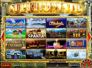 superomatic онлайн казино