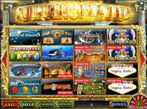 Онлайн казино superomatic гемблинг это википедия