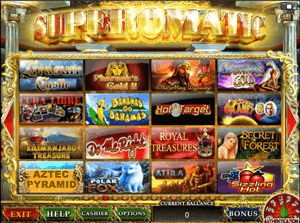 суперматик игровые автоматы играть бесплатно